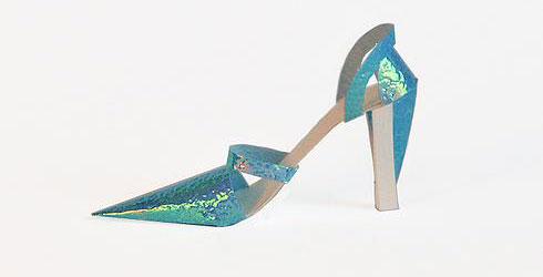 惊艳的折纸鞋子欣赏